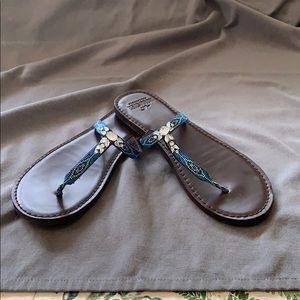 Hollister embellished sandals size 9